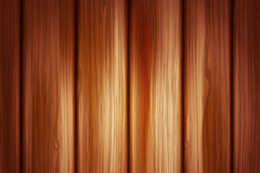 Real warm wood grain background vector