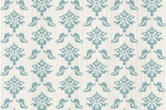 Blue retro seamless background pattern vector