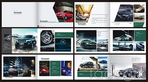 Car brochure vector | Free download