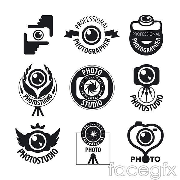 Fashion camera LOGO vector | Free download