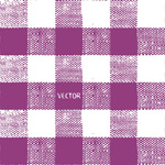 Purple plaid pattern background vector