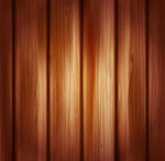 Warm wood grain background vector