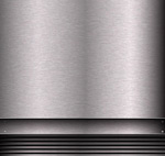 Brushed steel background vector