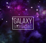 Fantasy Galaxy background vector