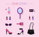 Women Accessories icon vector