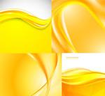 Fashion golden background vector