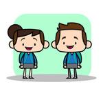 Cartoon boys vector