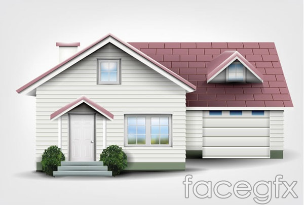 Private residential design vector