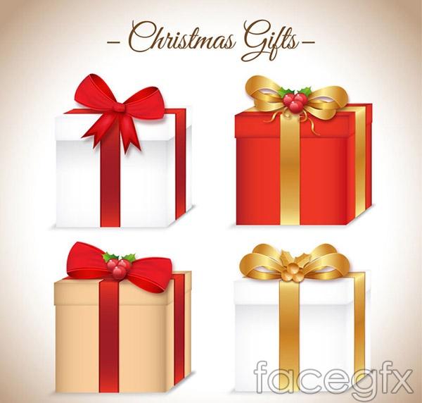 Gift bag Christmas vectors