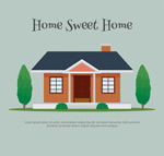Sweet House vector